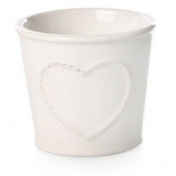 Ghiveci din ceramica inima